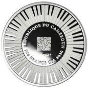 250 francs CFA (250e anniversaire de Ludwig van Beethoven) – avers