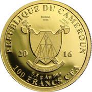 100 Francs - Buffalo – avers