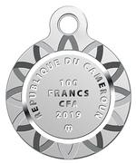 100 francs CFA (Golden Fish) – avers