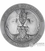 3000 francs CFA (Kama Sutra) – revers