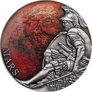 3000 francs CFA (Mars) – revers