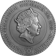 3000 francs CFA (Neptune) – avers