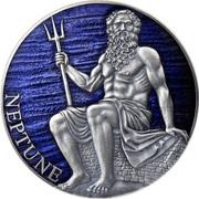 3000 francs CFA (Neptune) – revers