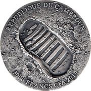 3000 francs CFA (50e anniversaire de la mission Apollo 11) – avers