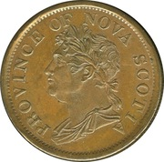 1 penny George IV – avers