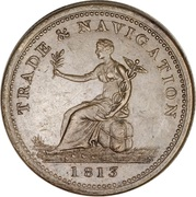1 Penny (Non-local/Trade & Navigation) – avers