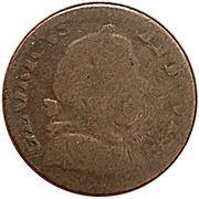 1/2 Penny - Georiuvs III. Vts - Briti (Blacksmith Token) – avers