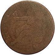 1/2 Penny - Georiuvs III. Vts - Briti (Blacksmith Token) – revers