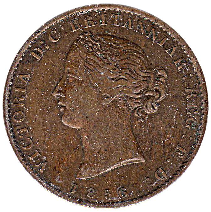 ½ penny Victoria (fleurs de mai) - Provinces canadiennes - Numista