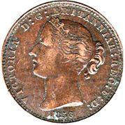 1 penny Victoria – avers