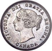 5 cents Victoria -  avers