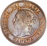 1 cent Victoria -  avers
