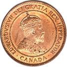 1 cent Edouard VII – avers
