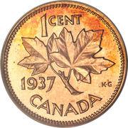 """1 cent Georges VI (avec """"ET IND: IMP:"""") -  revers"""
