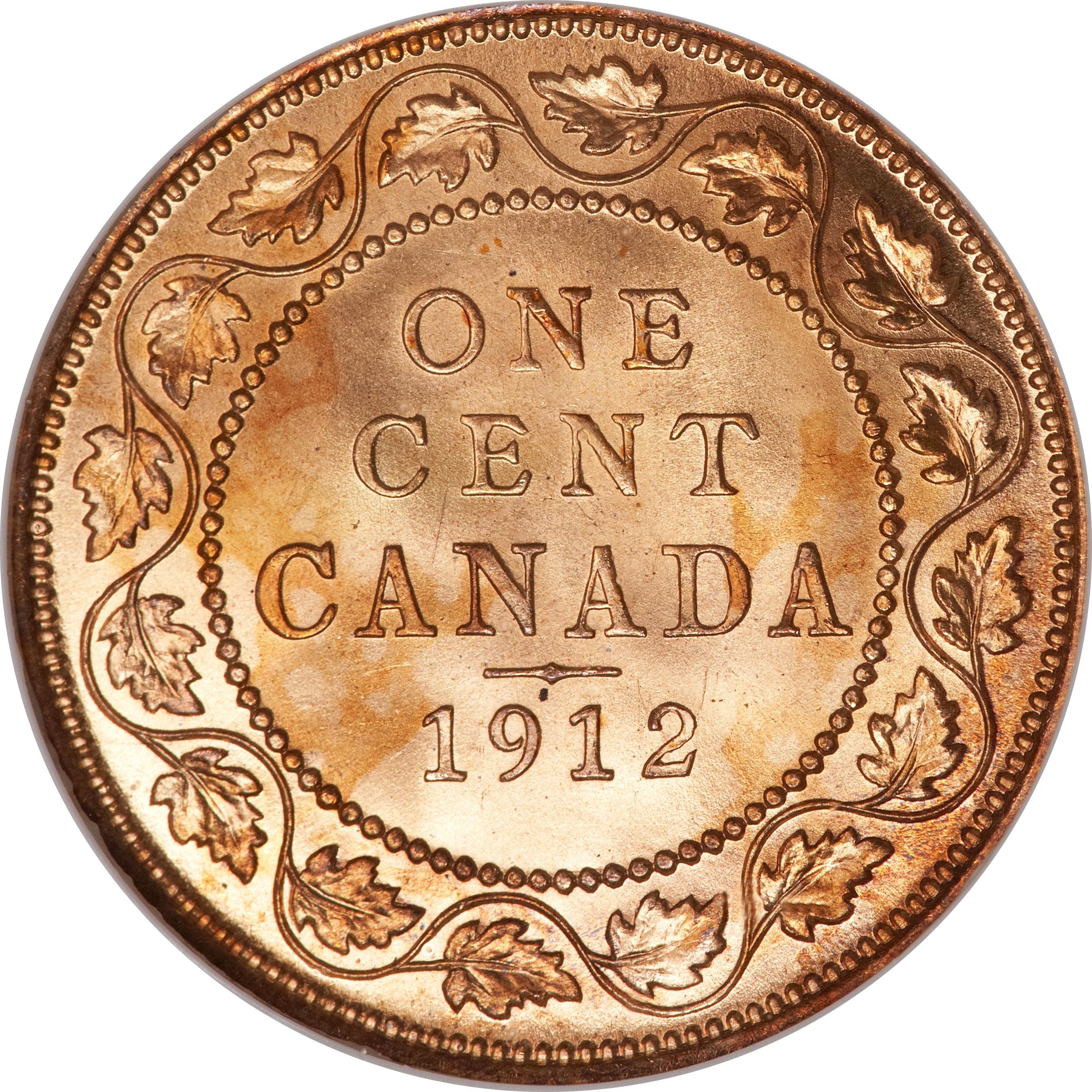 1 Cent Georges V Avec Quot Dei Gratia Quot Canada Numista