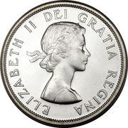 1 dollar Elizabeth II (1ere effigie) -  avers