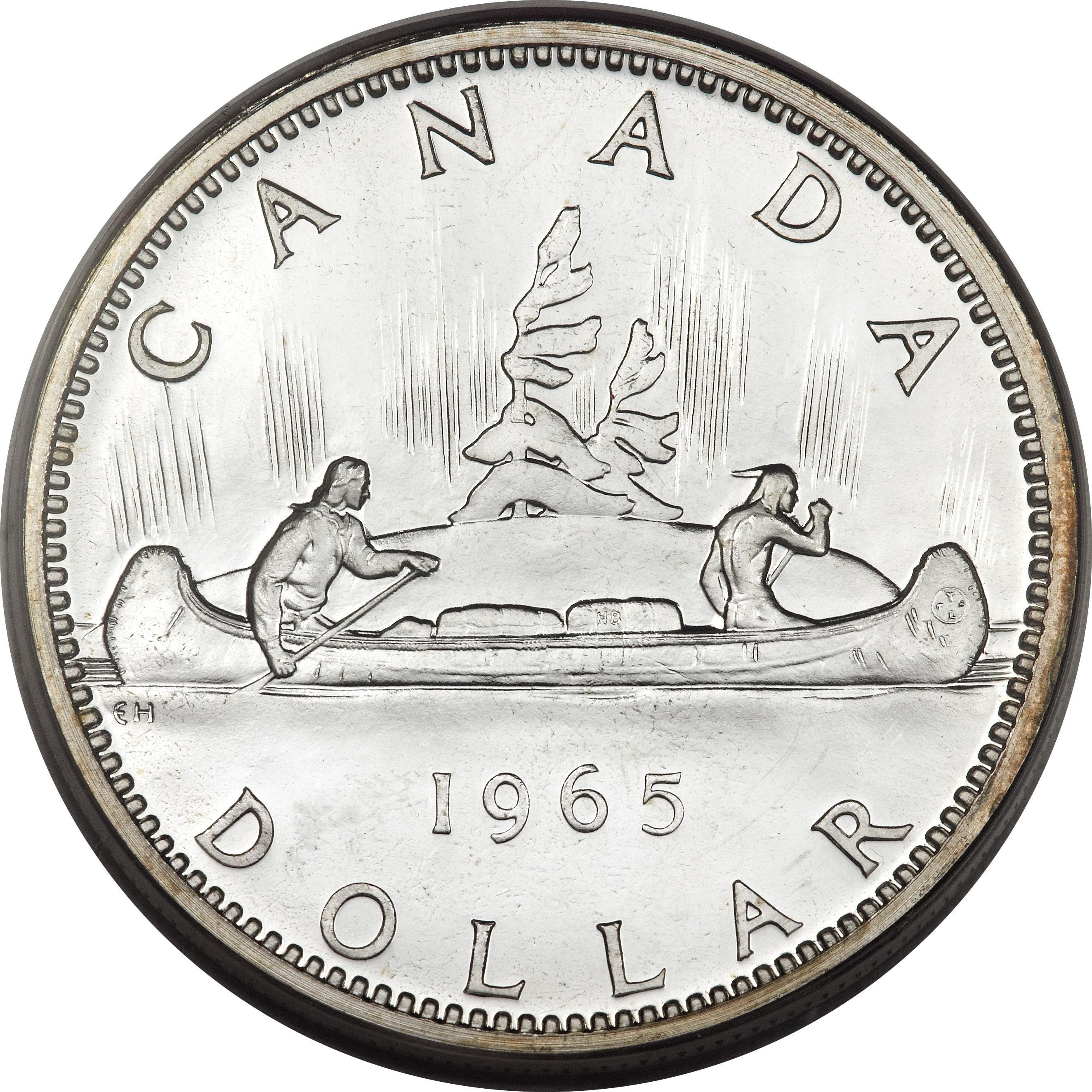 1 Dollar Elizabeth Ii 2 232 Me Effigie Canada Numista