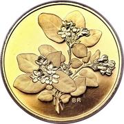 350 dollars Elizabeth II (Fleur de Mai (Nouvelle-Écosse)) – revers