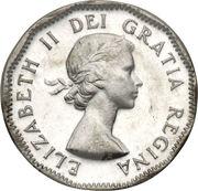 5 cents Elizabeth II (1ere effigie) -  avers