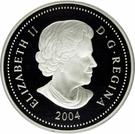 8 dollars Elizabeth II (Ours Grizzli) – avers