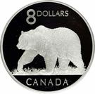 8 dollars Elizabeth II (Ours Grizzli) – revers
