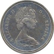 1 dollar Centenaire de la Colombie Britanique -  avers