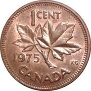 1 cent Elizabeth II (2e effigie; lourde) – revers