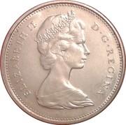 25 cents La confédération(100 ans) -  avers