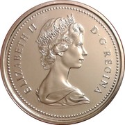 1 dollar Elizabeth II (Grande 2ème effigie) -  avers