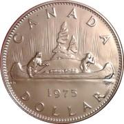 1 dollar Elizabeth II (Grande 2ème effigie) -  revers