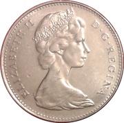5 cents La confédération (100 ans) -  avers