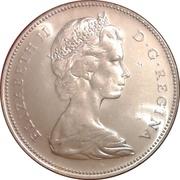 1 dollar La Confédération (100 ans) -  avers