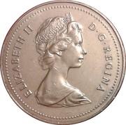 1 dollar Elizabeth II (Petite 2ème effigie) -  avers