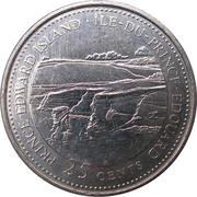 25 cents Île-du-Prince-Édouard -  revers