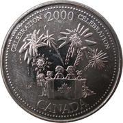 25 cents Millénaire Célébration -  revers