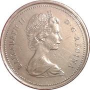 25 cents Elizabeth II (Centenaire de la GRC) -  avers