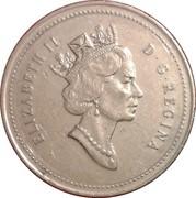 25 cents Elizabeth II (3e effigie) -  avers