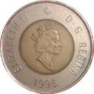 2 dollars Elizabeth II (3ème effigie) – avers