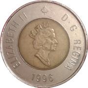 2 dollars Elizabeth II (3ème effigie) -  avers