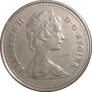 25 cents Elizabeth II (2e effigie) -  avers