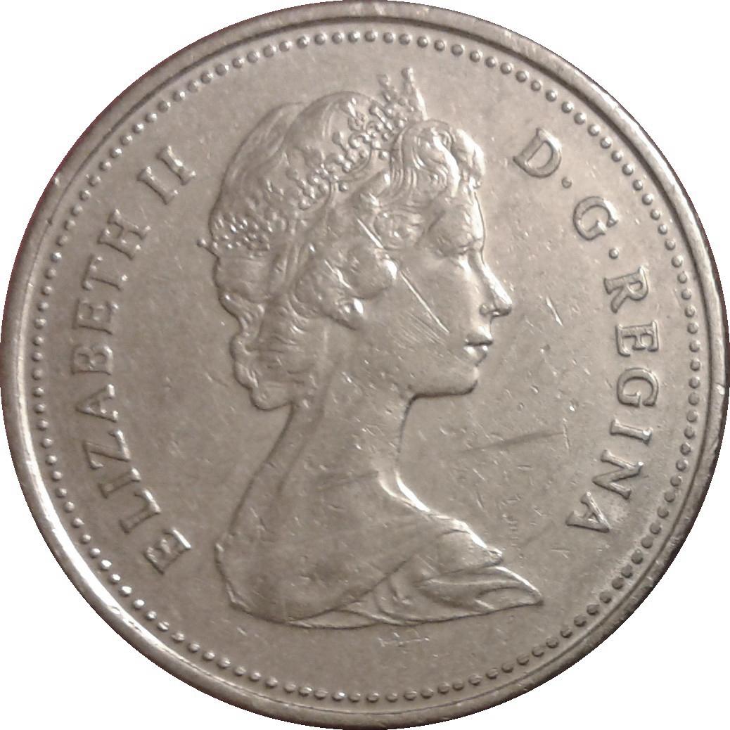 25 Cents Elizabeth Ii 2e Effigie Canada Numista