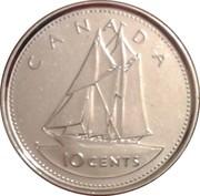 10 cents Jubilé d'or de Elizabeth II -  revers