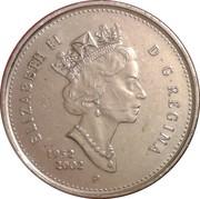 25 cents Jubilé d'or de Elizabeth II  -  avers