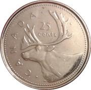 25 cents Jubilé d'or de Elizabeth II  -  revers