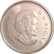 5 cents Elizabeth II (4e effigie) -  avers