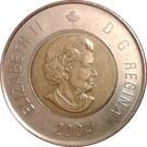 2 dollars Elizabeth II (4 ème effigie) – avers