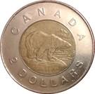 2 dollars Elizabeth II (4 ème effigie) – revers