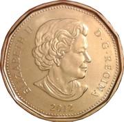1 dollar Elizabeth II (4ème effigie, micro-gravure au laser) -  avers
