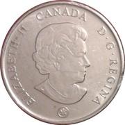 25 cents Bravoure -  avers