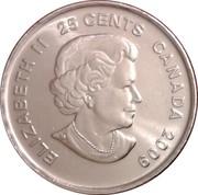 25 cents Cindy Klassen -  avers